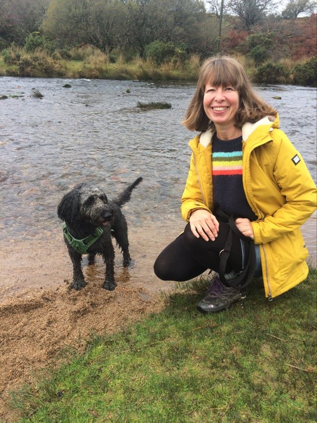 Simcha the dog & Emily Burns Child Therapist